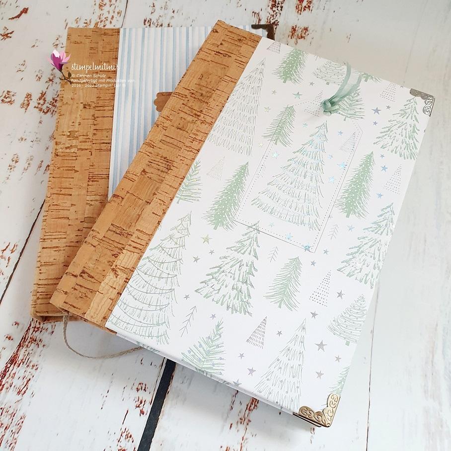 Notizbuch mit Korkeinband